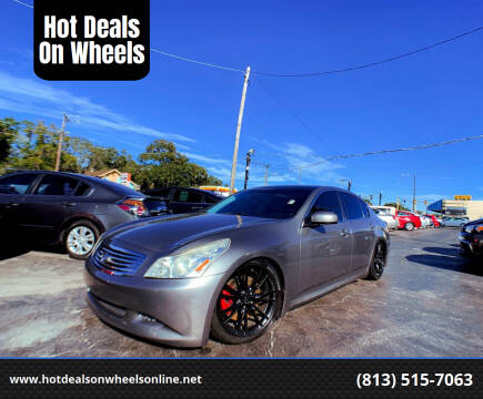 2008 Infiniti G35 for sale at Hot Deals On Wheels in Tampa FL