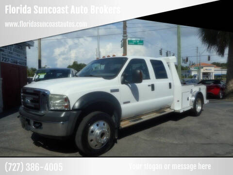 2006 Ford F-550 Super Duty for sale at Florida Suncoast Auto Brokers in Palm Harbor FL