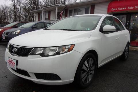 2013 Kia Forte for sale at Dave Franek Automotive in Wantage NJ