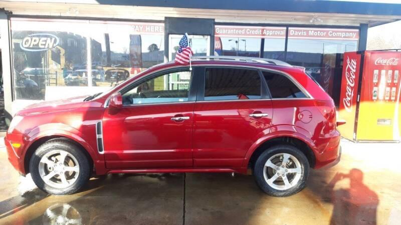 2014 Chevrolet Captiva Sport for sale at Davis Motor Company in Durant OK