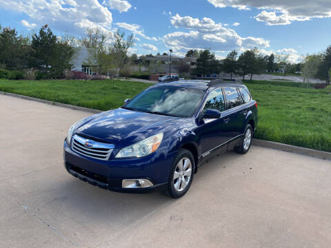 2011 Subaru Outback for sale at QUEST MOTORS in Englewood CO