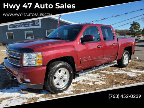 2013 Chevrolet Silverado 1500 for sale at Hwy 47 Auto Sales in Saint Francis MN