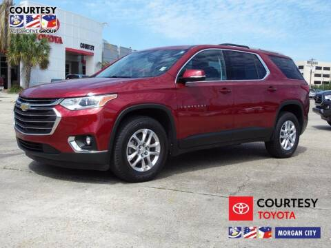 2018 Chevrolet Traverse for sale at Courtesy Toyota & Ford in Morgan City LA