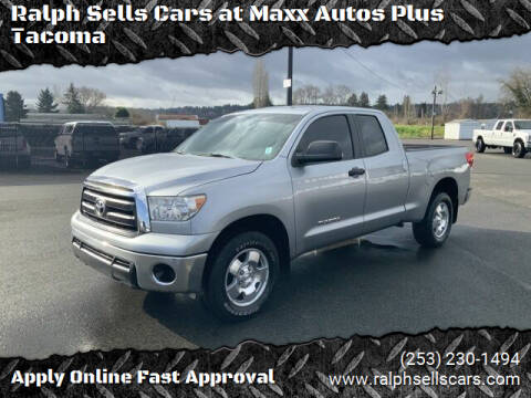 2012 Toyota Tundra for sale at Ralph Sells Cars at Maxx Autos Plus Tacoma in Tacoma WA