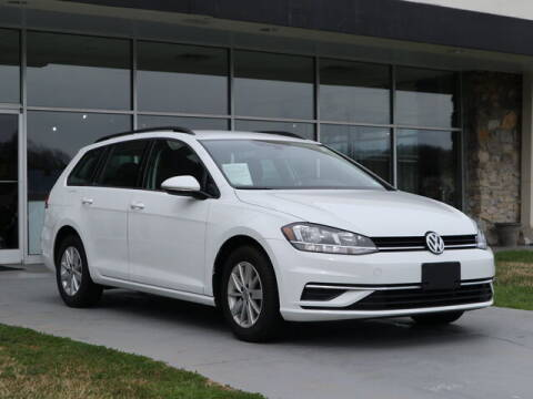 2019 Volkswagen Golf SportWagen for sale at RUSTY WALLACE CADILLAC GMC KIA in Morristown TN