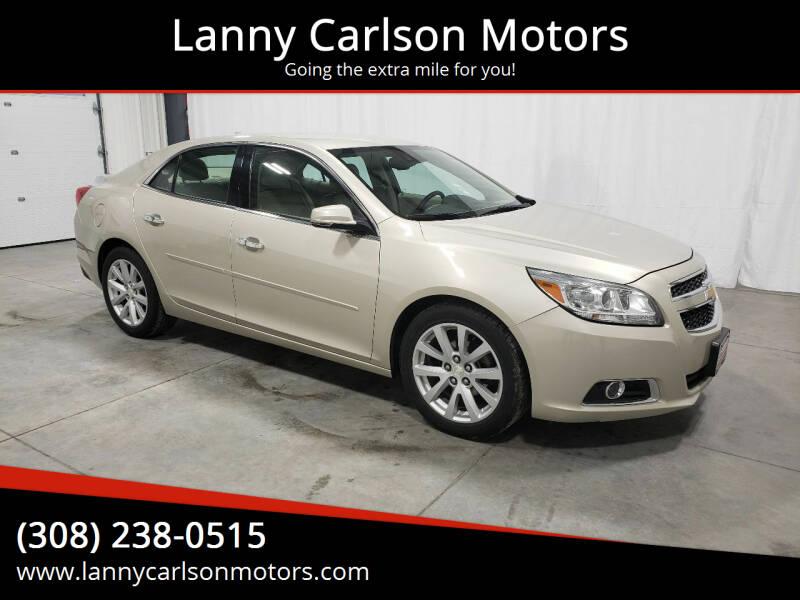 2013 Chevrolet Malibu for sale at Lanny Carlson Motors in Kearney NE