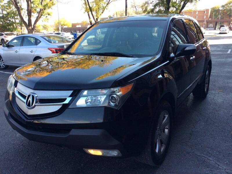 2009 Acura MDX for sale at AROUND THE WORLD AUTO SALES in Denver CO