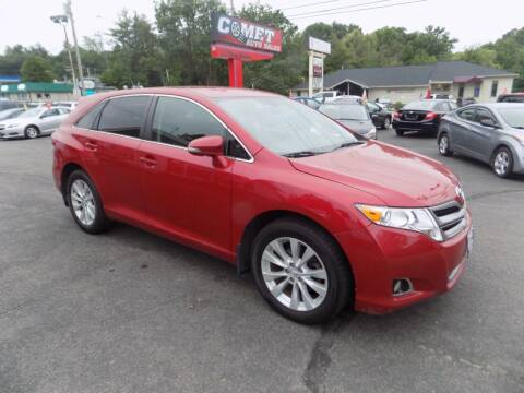2015 Toyota Venza for sale at Comet Auto Sales in Manchester NH