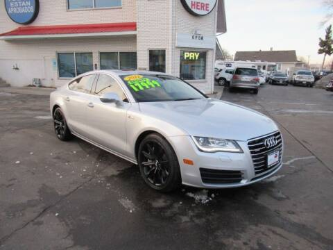 2012 Audi A7 for sale at Auto Land Inc in Crest Hill IL