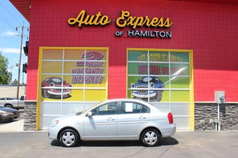 2011 Hyundai Accent for sale at AUTO EXPRESS OF HAMILTON LLC in Hamilton OH