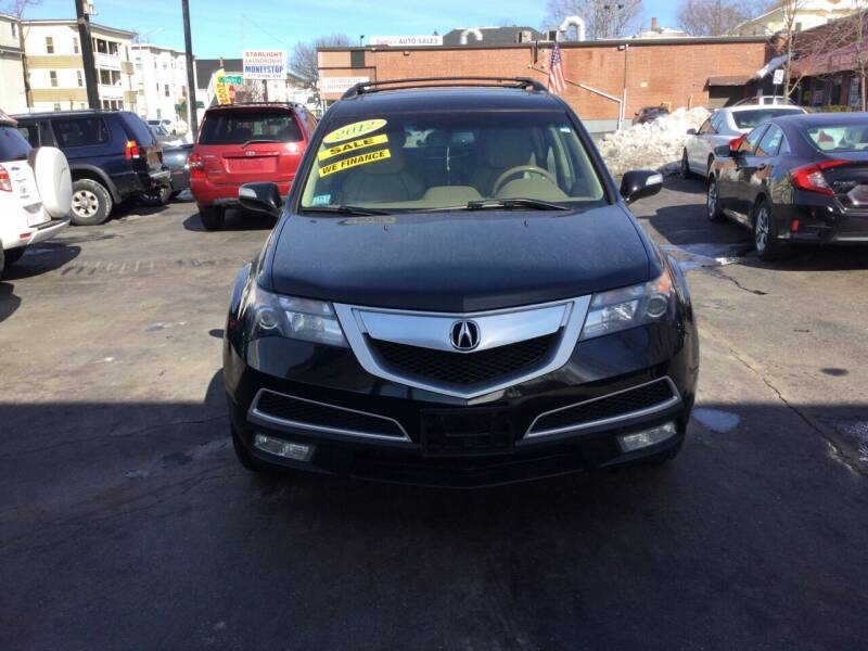 2012 Acura MDX for sale at Olsi Auto Sales in Worcester MA