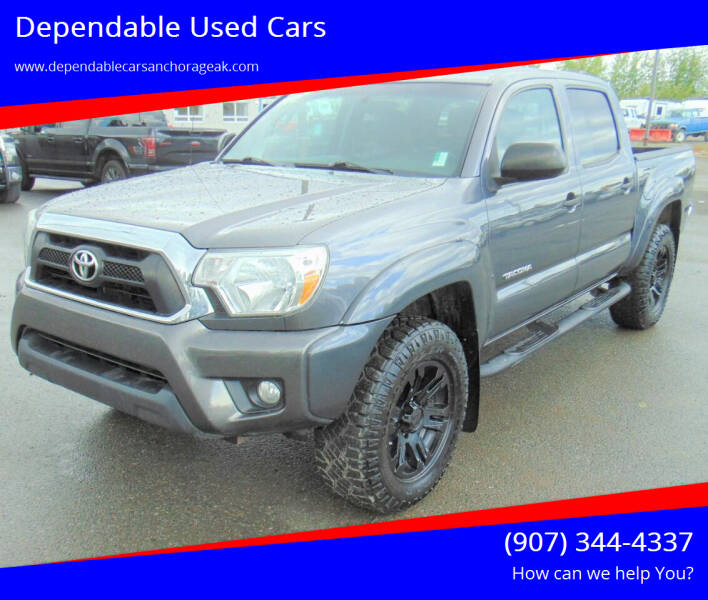 2015 Toyota Tacoma for sale at Dependable Used Cars in Anchorage AK