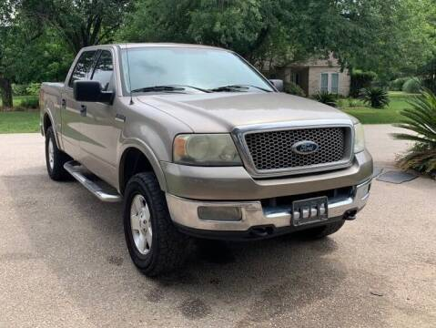 2004 Ford F-150 for sale at KAYALAR MOTORS Mechanic in Houston TX
