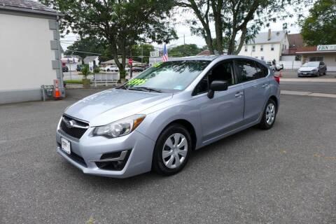 2015 Subaru Impreza for sale at FBN Auto Sales & Service in Highland Park NJ