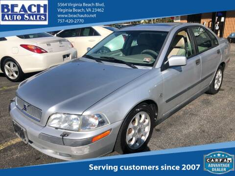 2001 Volvo S40 for sale at Beach Auto Sales in Virginia Beach VA