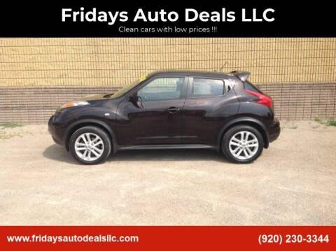2014 Nissan JUKE for sale at Fridays Auto Deals LLC in Oshkosh WI