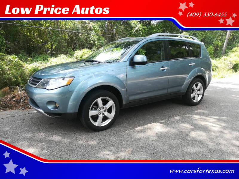 2007 Mitsubishi Outlander for sale at Low Price Autos in Beaumont TX