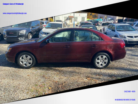 2008 Hyundai Sonata for sale at Compact Cars of Pittsburgh in Pittsburgh PA