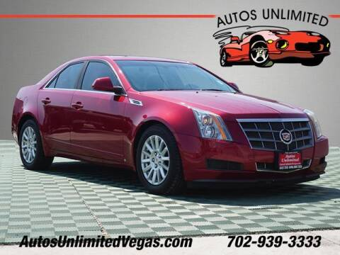 2009 Cadillac CTS for sale at Autos Unlimited in Las Vegas NV
