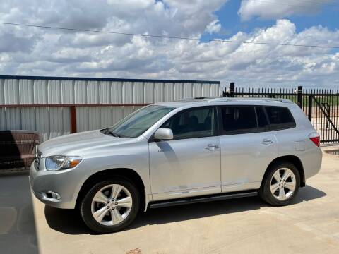 2008 Toyota Highlander for sale at TEXAS CAR PLACE in Lubbock TX