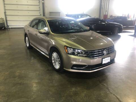 2016 Volkswagen Passat for sale at Shedlock Motor Cars LLC in Warren NJ