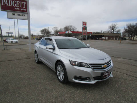 2017 Chevrolet Impala for sale at Padgett Auto Sales in Aberdeen SD