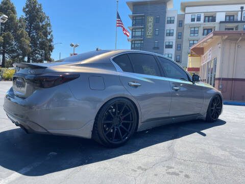 2018 Infiniti Q50 for sale at BSL Bay Sport & Luxury in Redwood City CA