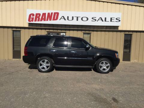 2010 Chevrolet Tahoe for sale at GRAND AUTO SALES in Grand Island NE