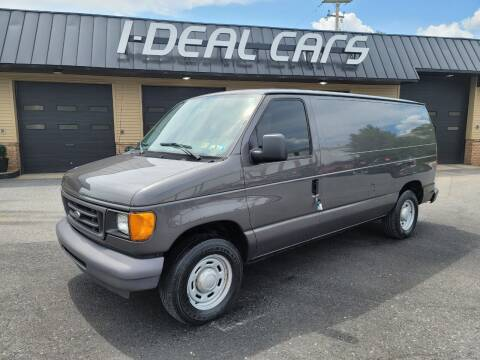2006 Ford E-Series Cargo for sale at I-Deal Cars in Harrisburg PA