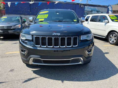 2015 Jeep Grand Cherokee for sale at Metro Auto Sales in Lawrence MA