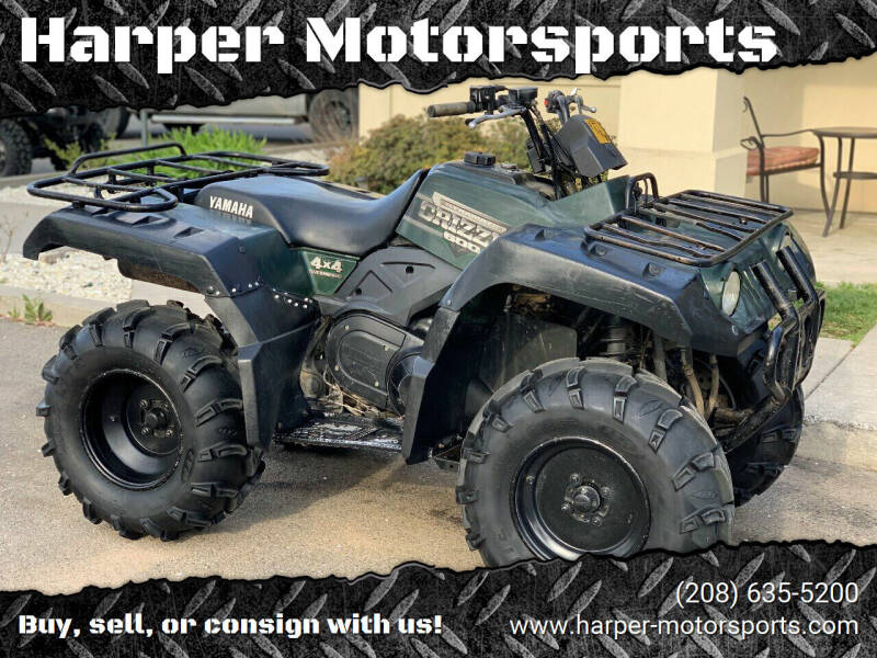 2000 Yamaha Grizzly 600 for sale at Harper Motorsports-Powersports in Post Falls ID
