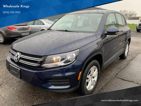 2013 Volkswagen Tiguan for sale at Wholesale Kings in Elkhart IN