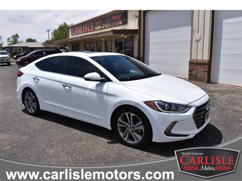 2017 Hyundai Elantra for sale at Carlisle Motors in Lubbock TX