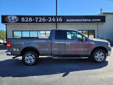 2006 Ford F-150 for sale at AutoWorld of Lenoir in Lenoir NC