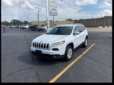 2016 Jeep Cherokee for sale at Greenway Automotive GMC in Morris IL