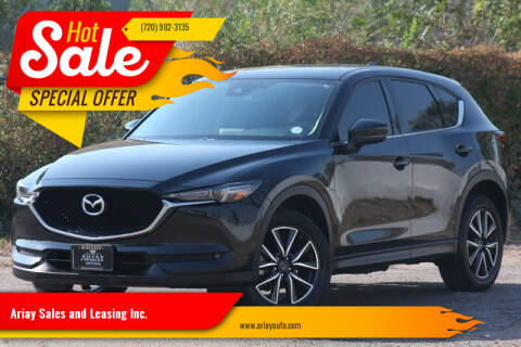 2017 Mazda CX-5 for sale at Ariay Sales and Leasing Inc. - Pre Owned Storage Lot in Glendale CO