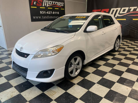 2009 Toyota Matrix for sale at T & S Motors in Ardmore TN