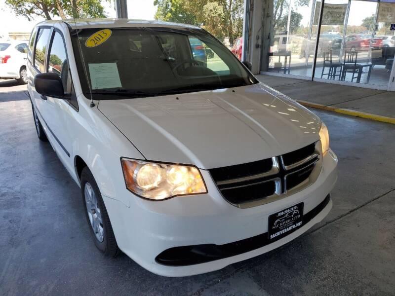 2013 Dodge Grand Caravan for sale at Sac River Auto in Davis CA