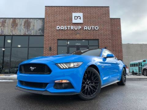 2017 Ford Mustang for sale at Dastrup Auto in Lindon UT