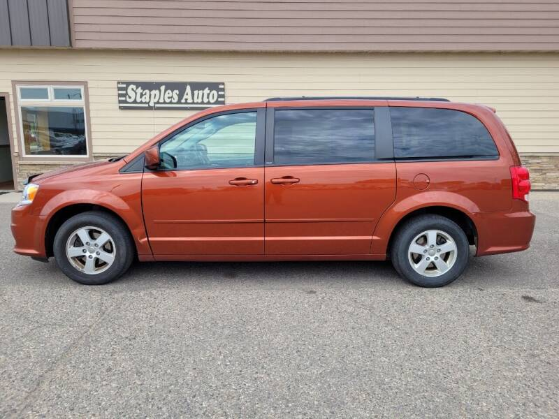 2012 Dodge Grand Caravan for sale at STAPLES AUTO SALES in Staples MN