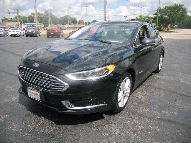 2018 Ford Fusion Hybrid for sale in Loves Park, IL