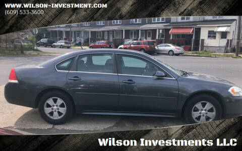 2010 Chevrolet Impala for sale at Wilson Investments LLC in Ewing NJ