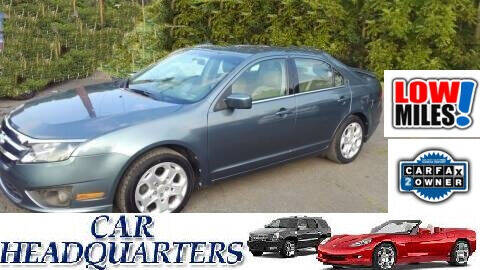 2011 Ford Fusion for sale at CAR  HEADQUARTERS in New Windsor NY