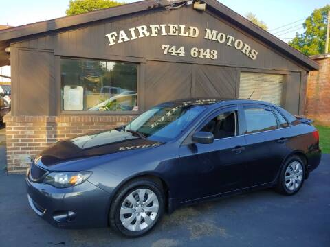 2008 Subaru Impreza for sale at Fairfield Motors in Fort Wayne IN
