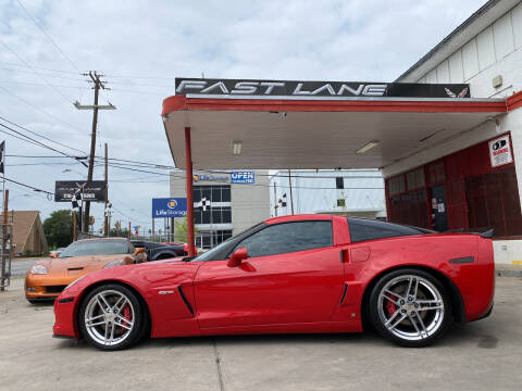 2006 Chevrolet Corvette for sale at FAST LANE AUTO SALES in San Antonio TX