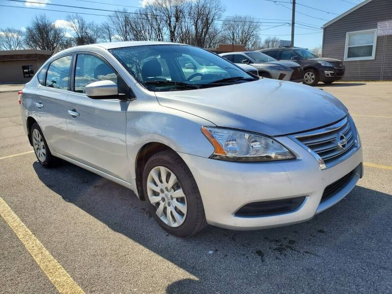 2015 Nissan Sentra for sale at Affordable Auto Sales in Toledo OH