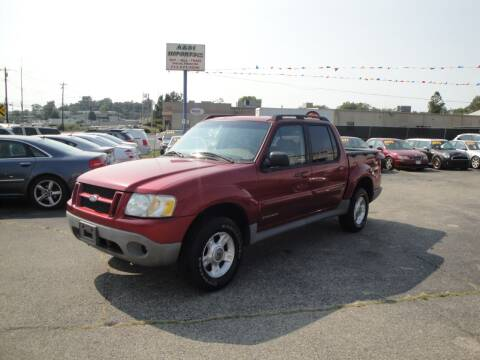2001 Ford Explorer Sport Trac for sale at A&S 1 Imports LLC in Cincinnati OH