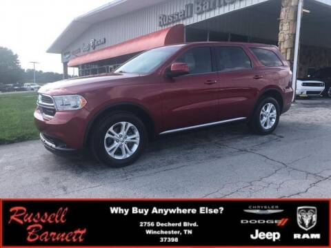 2013 Dodge Durango for sale at Russell Barnett Chrysler Dodge Jeep Ram in Winchester TN