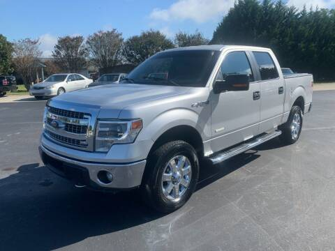 2014 Ford F-150 for sale at Getsinger's Used Cars in Anderson SC