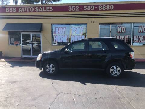 2008 Chevrolet Equinox for sale at BSS AUTO SALES INC in Eustis FL